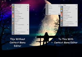 Win7 Context Menu Editor by ZombieGroundSquirrel