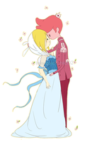 AT- Fionna and Prince Gumball by Immature-Child02