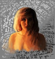 Ellie lyrics, everywhere by chicken-blast