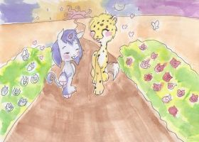 A stroll down the Road of Life by Chibi-Kitty-Chan