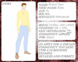 Survive-The-End: Jokers Leader App, Richard Thorn by writerELEASE