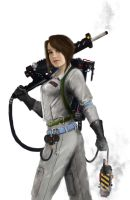 Ellen Page as a Ghostbuster by Mark35950