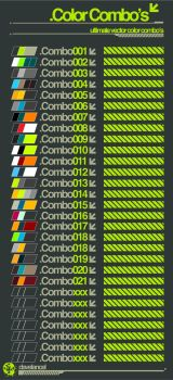 Ultimate Vector Color Combos by davelancel