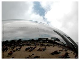 Millennium Cloud Gate by simba