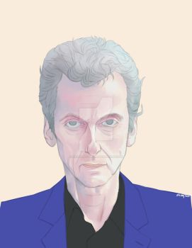 Doctor Who 12th by sallylao350121