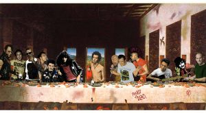 the last supper punk by rodakrodak
