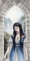 Lady Anutar Bookmark by Achen089