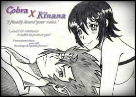 Cobra X Kinana -always be together- by grimmiko88