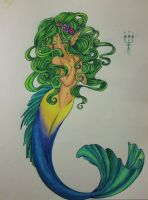 Another mermaid by ShyniMoonStar