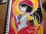 Sailor Mars- Soul of Fire by Evilness321