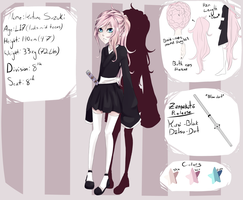 Bleach OC Reference Sheet: Kotone Suzuki by lainey-lamb