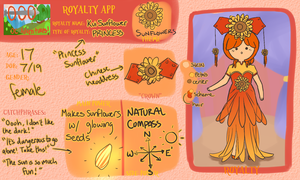 AoO: Sunflower Princess by Soliels