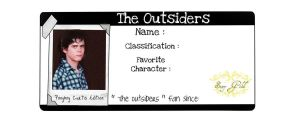 The Outsiders - ponyboy by drawwithme15