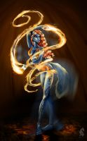 - Fire Dancer - by odduckoasis