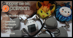 Support me on Patreon by Yujami