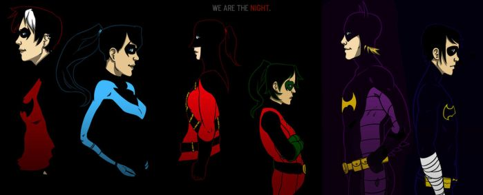 DC - We are the Night by Original-Blue