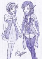 Hanako and Alys by YoriNashi