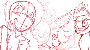 Let's go to Lavender Town! WIP by ExileEmily