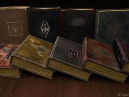 Skyrim book by Minomi9
