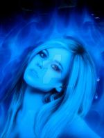 Avril Lavigne airbrush by Drawer88