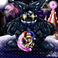 Super Mario 3D World Harlequin Boss by Chris900J