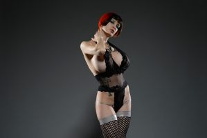 Fishnet Stocking by Ariane-Saint-Amour