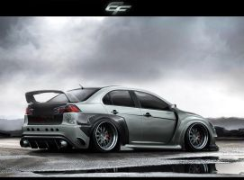 Mitsubishi Lancer Evolution X by EmreFast