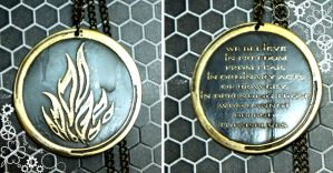 Divergent Dauntless pendant by TimforShade