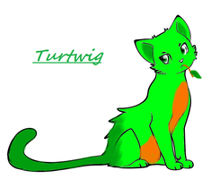 Turtwig Cat by SierraSweet