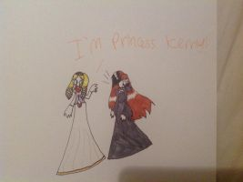 Princess Kenny and Frankie by coralinefan4ever