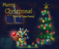 2013 Christmas Card by Jetyra-Luck