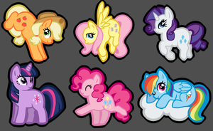 Pony charms by twistedCaliber