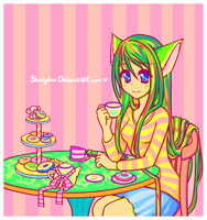 more tea please by Shinjukou