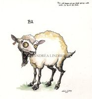 Mad Sheep by Deggiahl