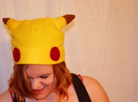 Pikachu Hat by mylifeline