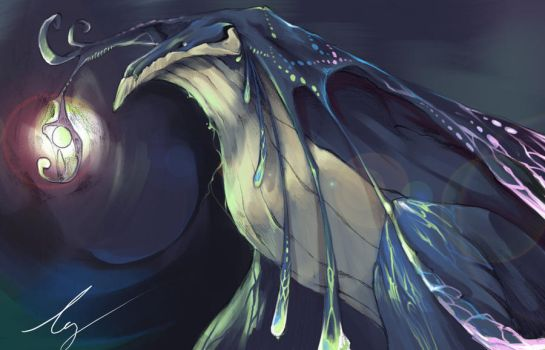 Whale Dragon by fhxms321