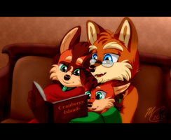 Story Time by Flora-Tea