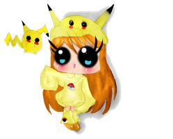 Chibi pika! by yayotaXD