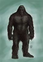 bigfoot by xilrion