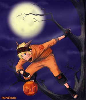Halloween Outing - Naruto by duneboo