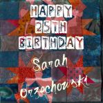 Happy Birthday sarah by GhostGurl26
