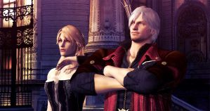 Trish and Dante DMC4 SE by TrishGloria