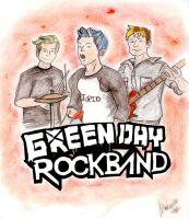 Green Day Rock Band by privatecomedy