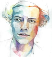 Harry Styles by veyeone
