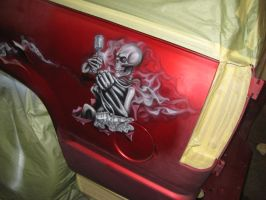 airbrushed tahoe 4 by Jonny5nLala