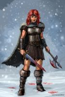 Red Sonja by SirTiefling