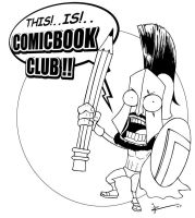 This is comicbookclub by IZRA
