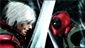 Dante vs DeadPool by AbnerAgustin