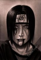 Itachi's last smile by carlos-sousa-13