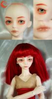 BJD Face Up - Hujoo Sara 02 by Izabeth